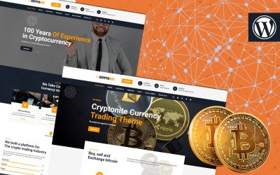 Cryptonite | Cryptocurrency & Financial Technology WordPress Theme
