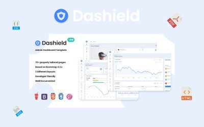 Dashield - Bootstrap 4 Admin Template