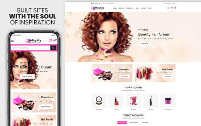 Maysily - The Beauty & Cosmetics Premium Shopify Theme