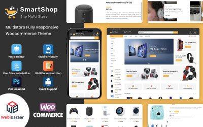 SmartShop - Multipurpose Premium WooCommerce Theme