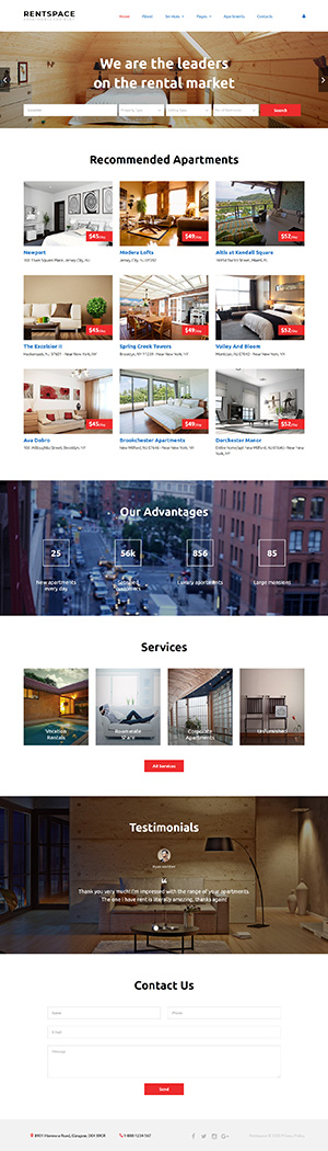 RealEstate Website Template