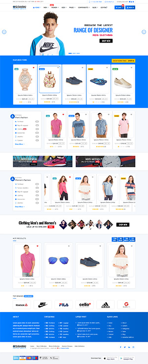 Fashion - Bootstrap 4 Template