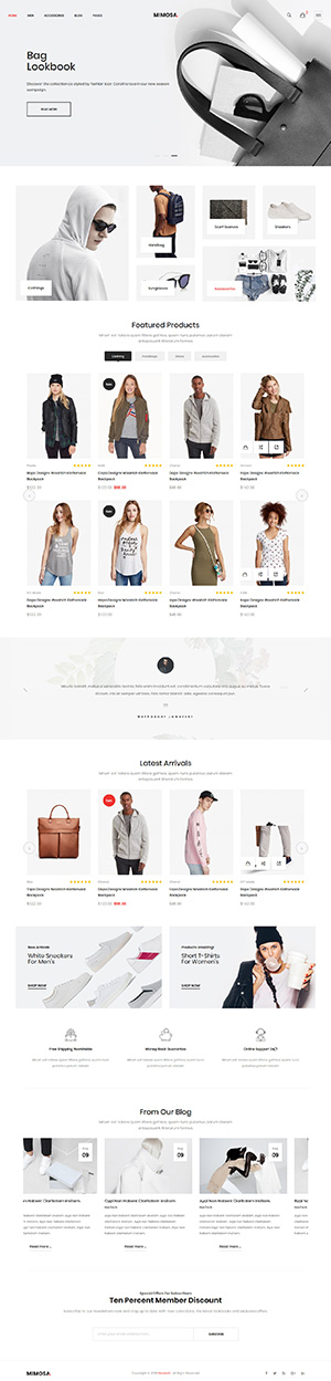 MultiPurpose Ecommerce Shop 7