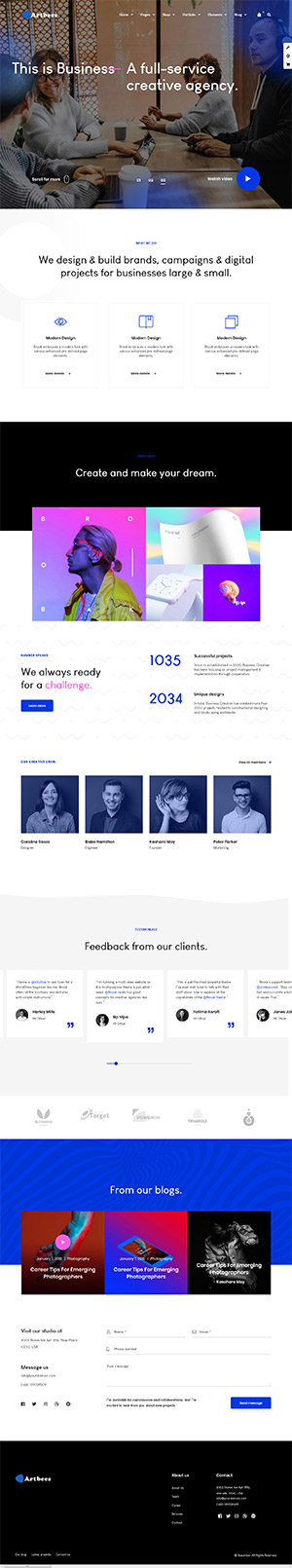 Artbees Multipurpose Template