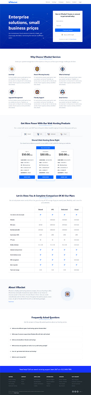 Angular Multipurpose Template