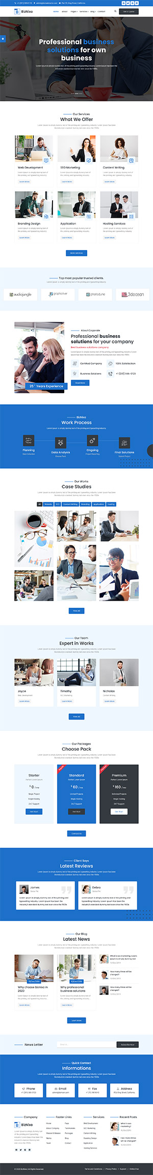 Creative Agency HTML Template